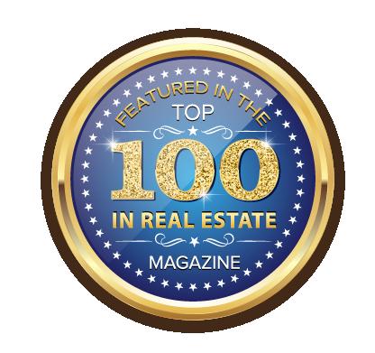 Top 100 Real Estate - Medallion Logo